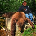 Jake Simmons with his bear