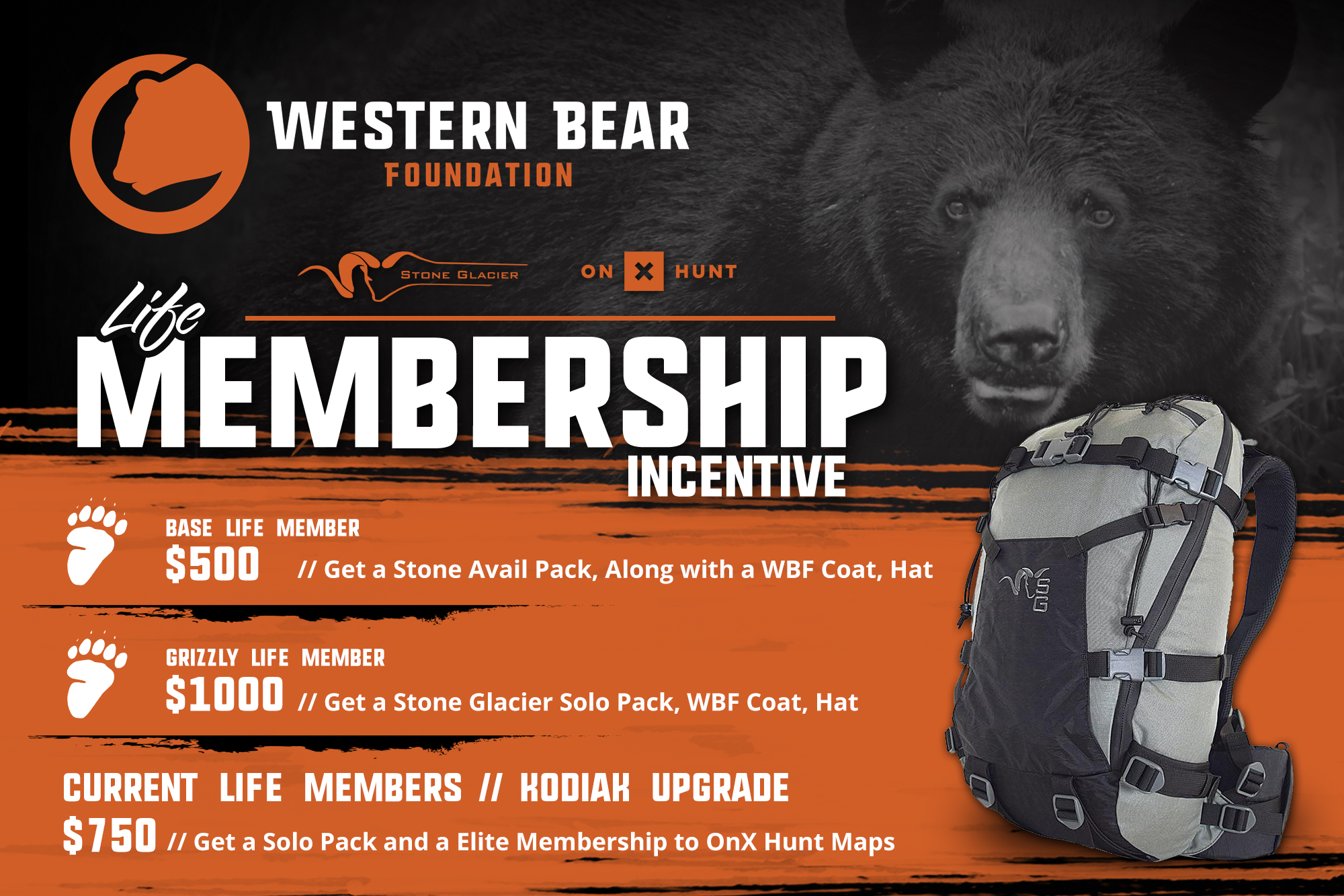 Western Bear Foundation Lifetime Membership Ad 2018